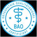BAO Osteopathie Zertifikat - Kristina Eben